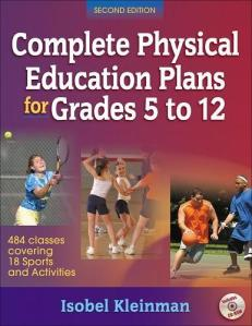 Complete Physical Education Plans for Grades 5 to 12.