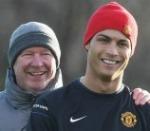 Fergie and Ronaldo