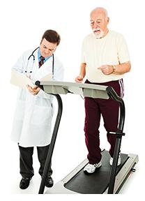 Senior Man - Monitored Exercise