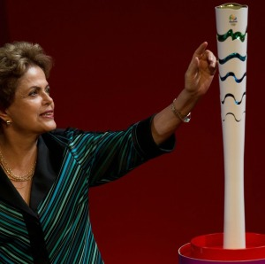 Rio Olympic Torch