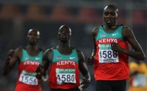 kenyan long distance runners